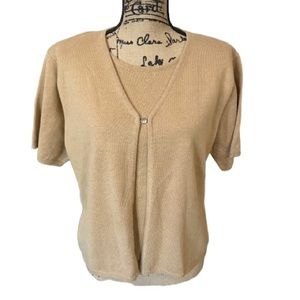 PROPHECY by SAG HARBOR Knit Top Size L New w Tags
